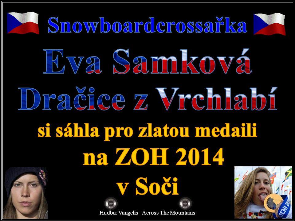 Exkluzivní foto pro BLESK! Snowboardcrossařka Eva Samková: Kluci se mě bojí!