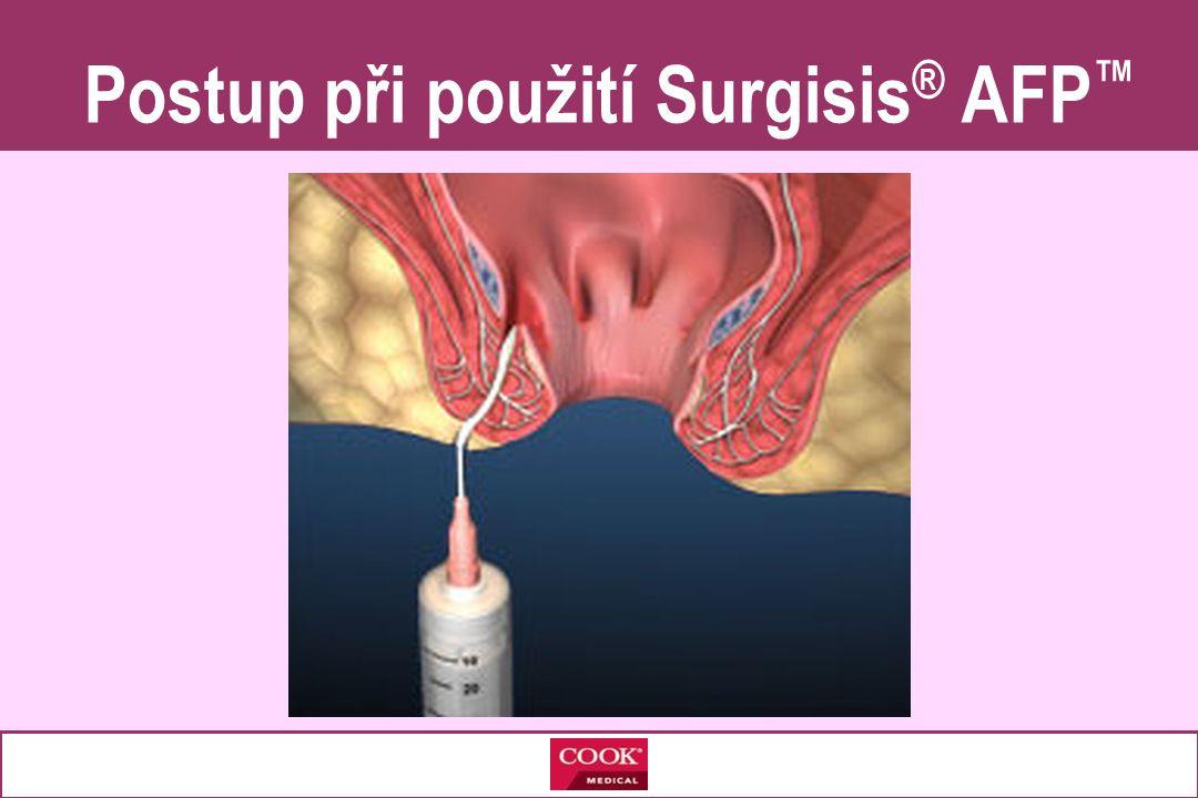 Postup při použití Surgisis ® AFP ™