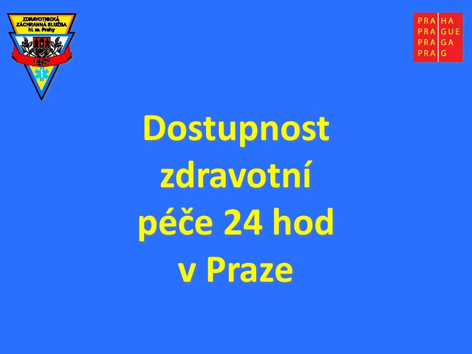 Dostupnost zdravotní péče 24 hod v Praze