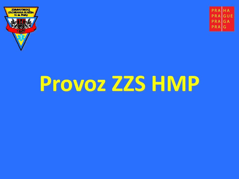Provoz ZZS HMP