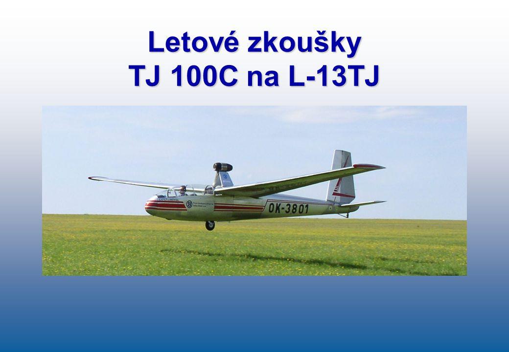 Letové zkoušky TJ 100C na L-13TJ