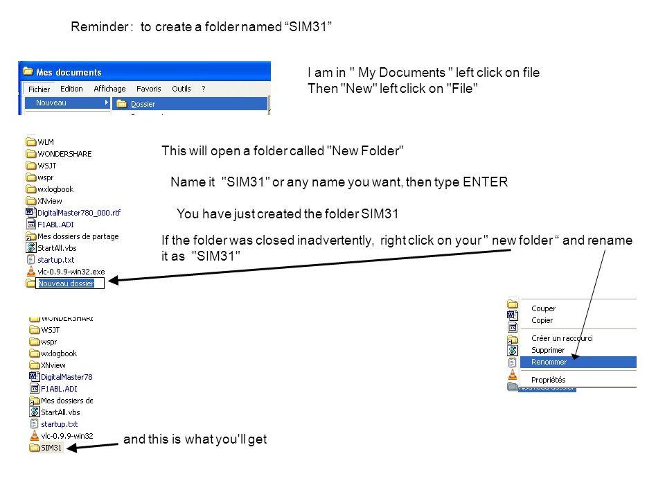Procedure for using SIM31 Volání CQ je snadné QRZ je také snadné Stiskněte levé tlačítko myši na TUNE Když volání dekódujete, dvojklikněte levým tlačítkem na značku Otevře se toto okno a umožní vybrat si mezi různými funkcemi.