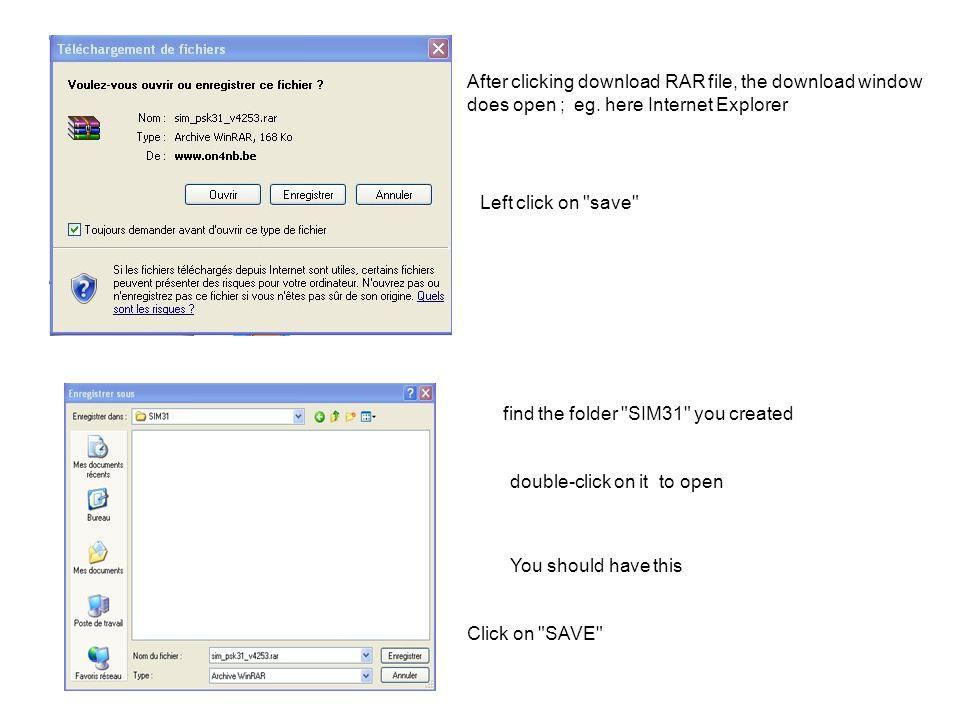 Značka se objeví v prvním okénku Nezapomeňte zvolit správný QRG Pro odpověď stanici klikněte levým na tlačítko REPLY