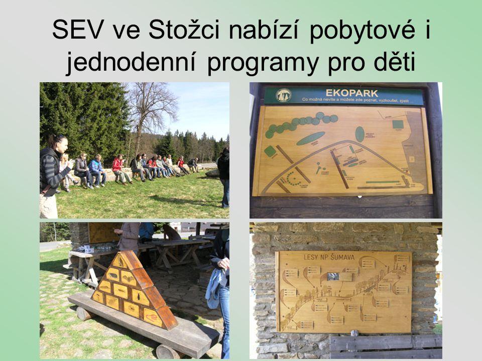 SEV ve Stožci nabízí pobytové i jednodenní programy pro děti