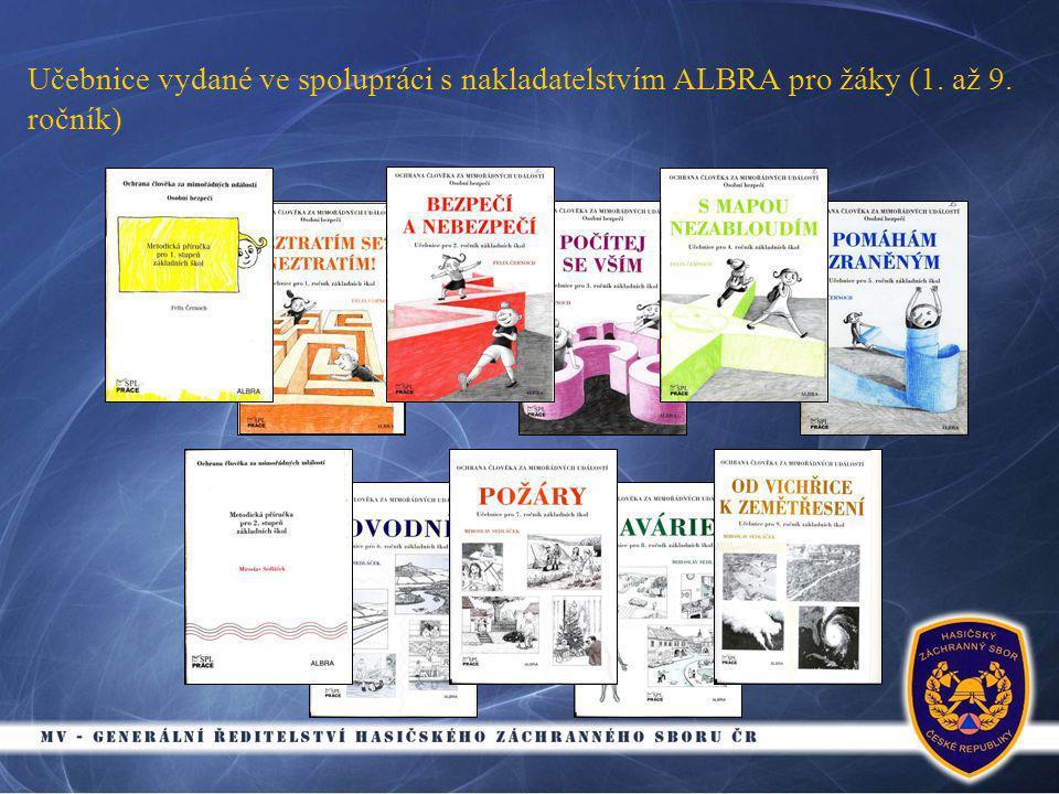 Učebnice vydané ve spolupráci s nakladatelstvím ALBRA pro žáky (1. až 9. ročník)