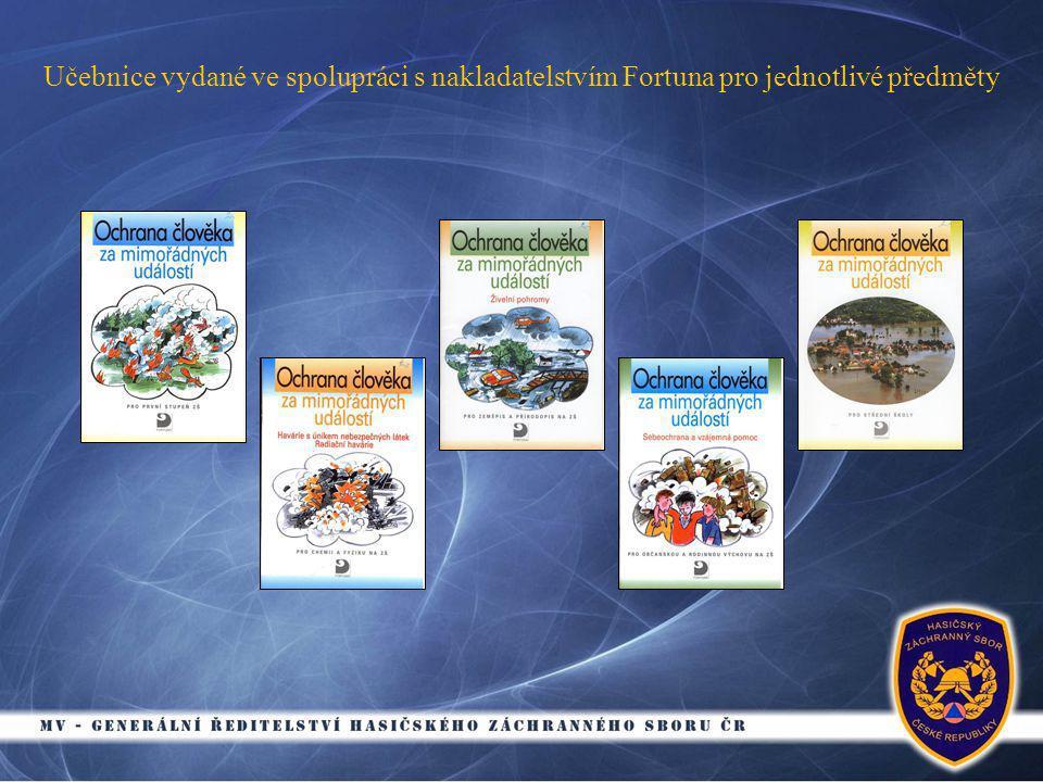 Učebnice vydané ve spolupráci s nakladatelstvím Fortuna pro jednotlivé předměty