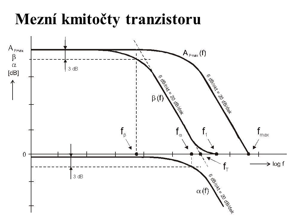 Mezní kmitočty tranzistoru