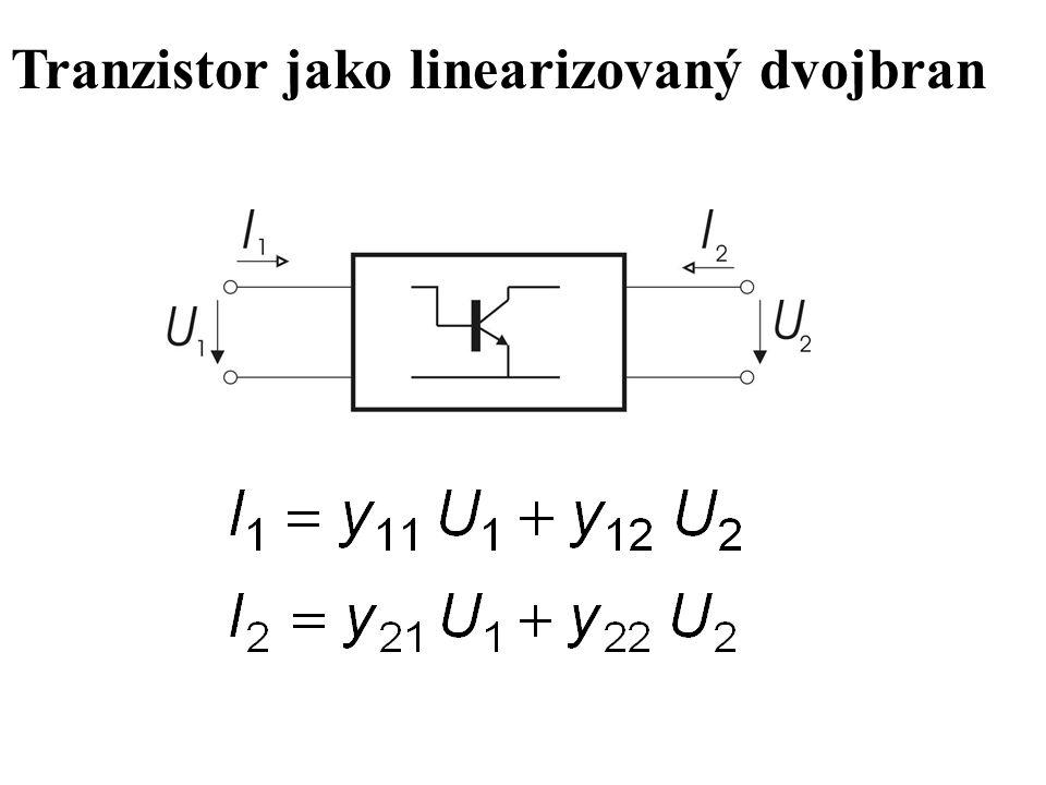 Tranzistor jako linearizovaný dvojbran