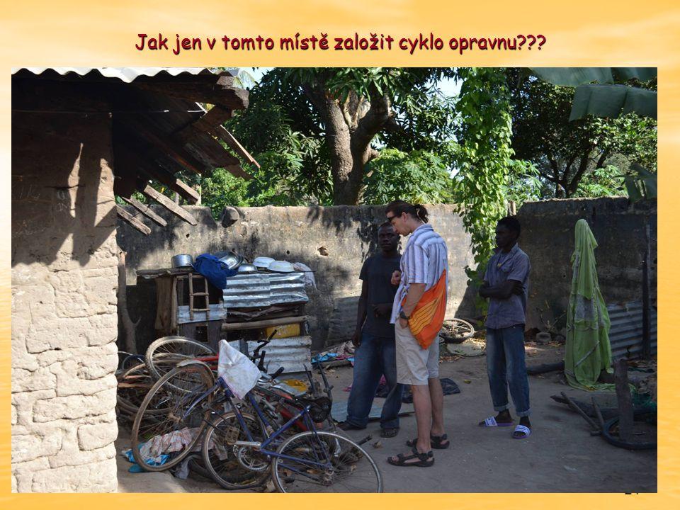 24 Jak jen v tomto místě založit cyklo opravnu???