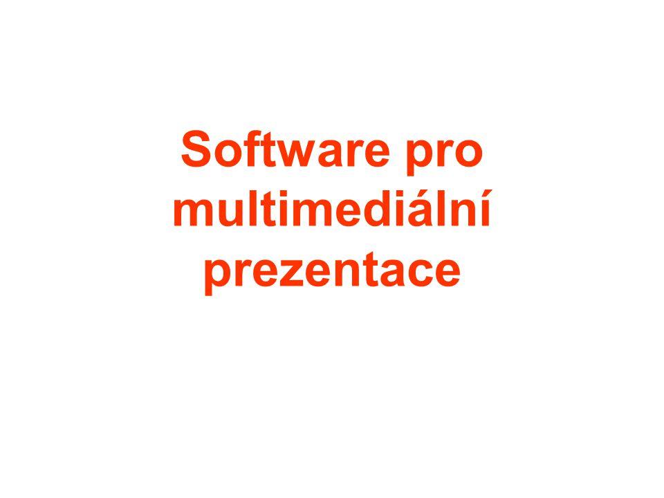 Software pro multimediální prezentace