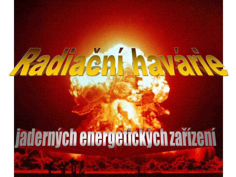 Obsah •Jaderná energetikaJaderná energetika •Jaderná elektrárnaJaderná elektrárna •Schéma jadrné elektrárnySchéma jadrné elektrárny •Princip štěpné reakcePrincip štěpné reakce •Jaderná katastrofaJaderná katastrofa •Jaderná havárieJaderná havárie •Jaderná kontaminaceJaderná kontaminace •Havárie jaderné elektrárny v ČernobyluHavárie jaderné elektrárny v Černobylu •Havárie jaderné elektrárny Jaslovské BohuniceHavárie jaderné elektrárny Jaslovské Bohunice •Zásady jaderné bezpečnostiZásady jaderné bezpečnosti •Výkladový rejstříkVýkladový rejstřík ZDROJE & ODKAZY Web stránky http://www.radiace.czweb.org