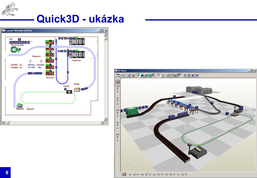 HUMUSOFT s.r.o. 8 Quick3D - ukázka