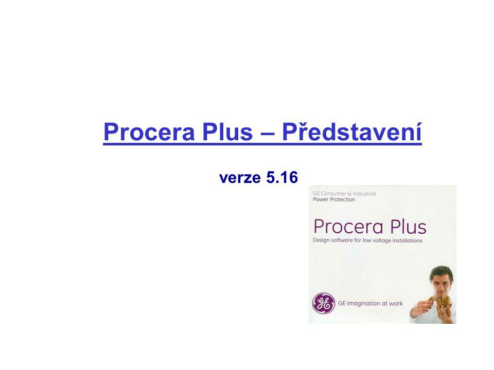 Procera Plus – Představení verze 5.16