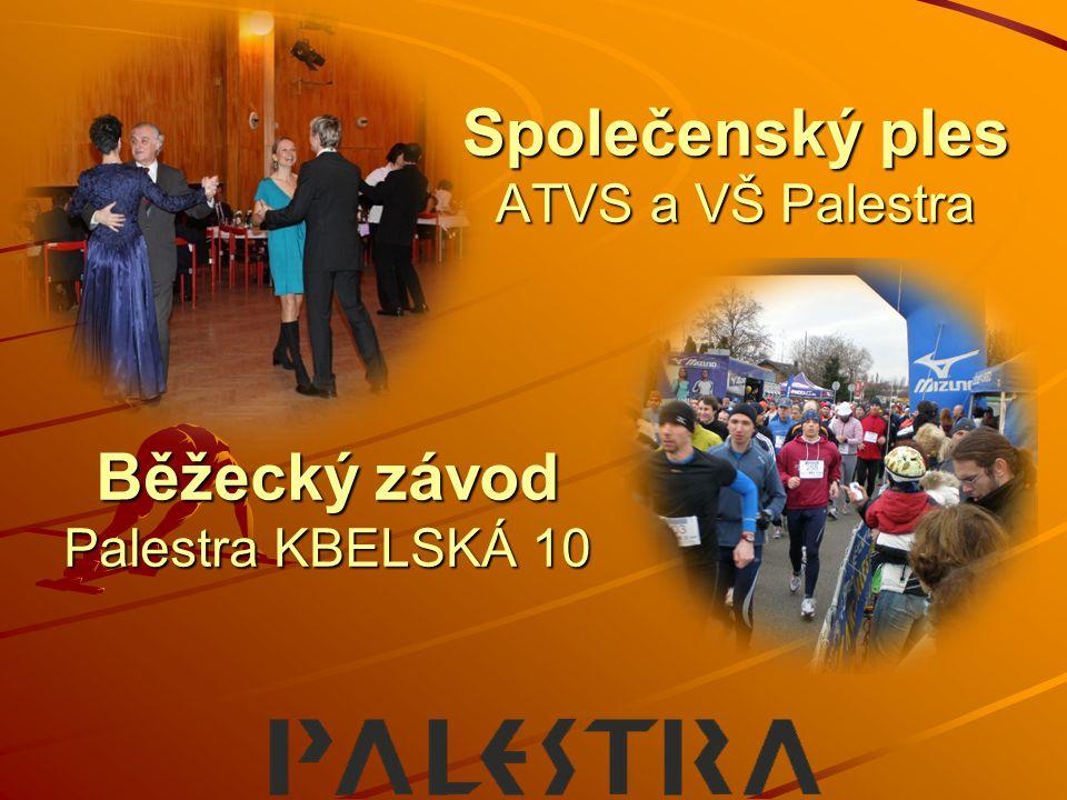 Společenský ples ATVS a VŠ Palestra Běžecký závod Palestra KBELSKÁ 10