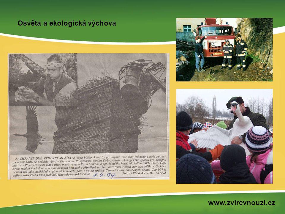 Osvěta a ekologická výchova www.zvirevnouzi.cz