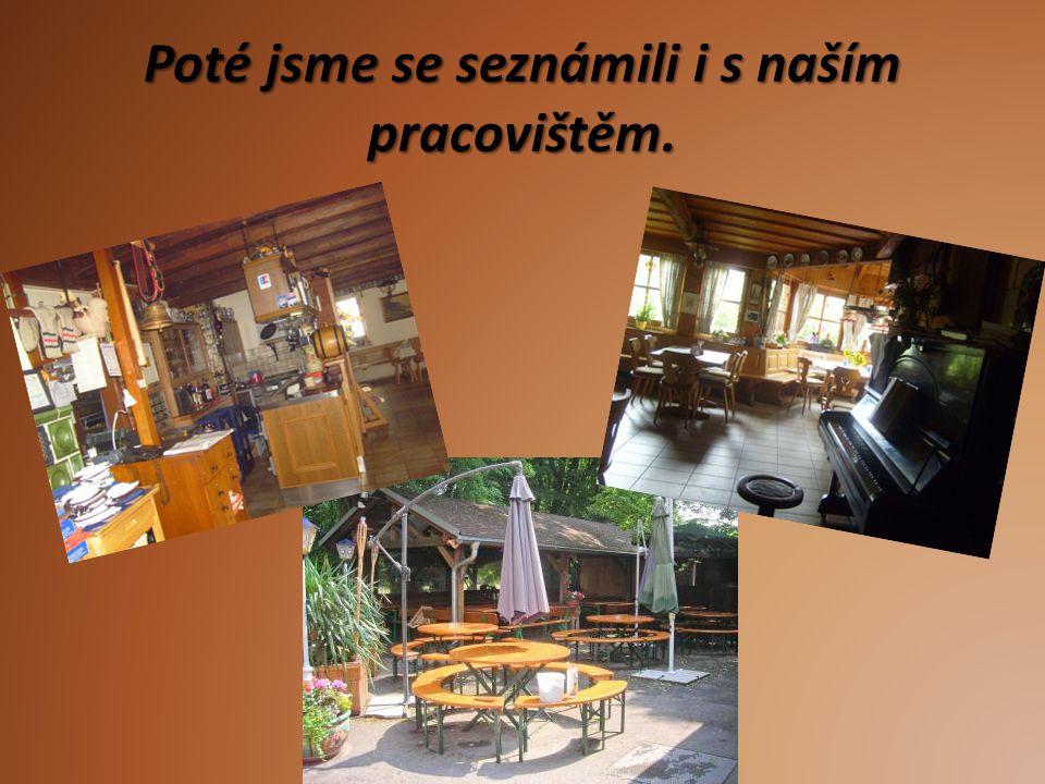 Restaurace Zde jsme moc často nebyli, jen při opravdu velkém počtu hostů...