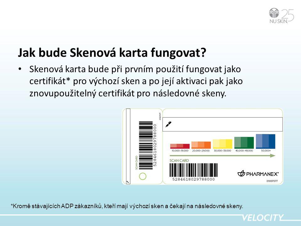 Výhody nové Skenové karty • Více osobních členských výhod pro jednotlivé zákazníky a větší vnímaná hodnota jakožto součást programu ADR.