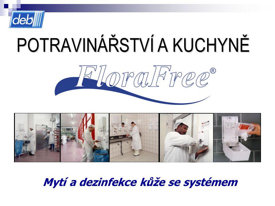 POTRAVINÁŘSTVÍ A KUCHYNĚ Mytí a dezinfekce kůže se systémem