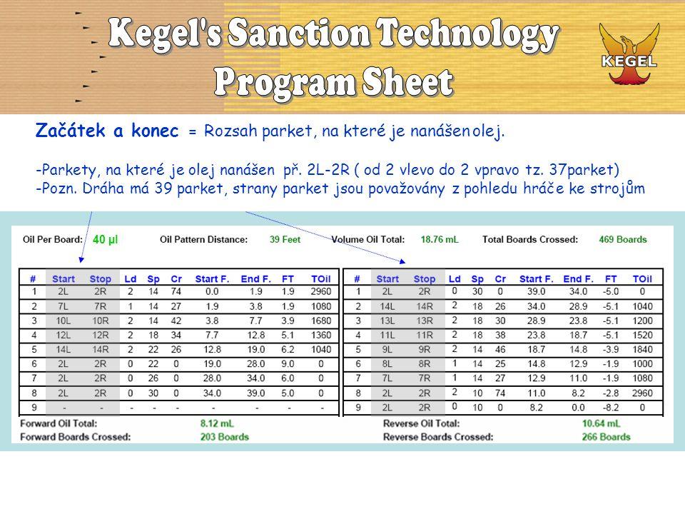 Pomocí součtu množství oleje můžeme vygenerovat VOLUME RATIO z programu KOSI.