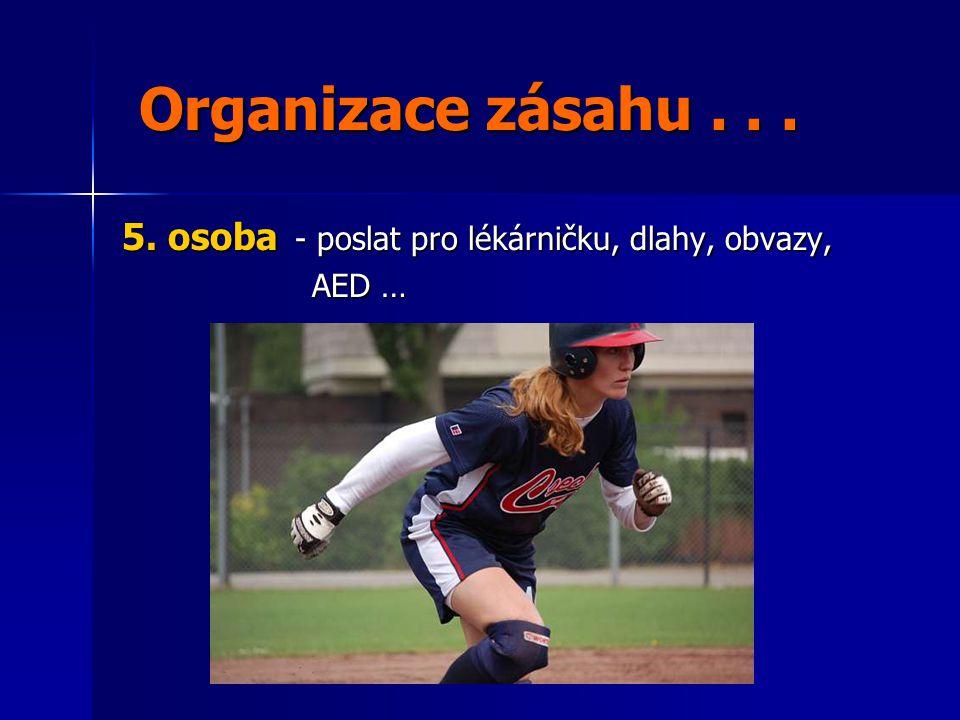 Organizace zásahu...Organizace zásahu... 5.