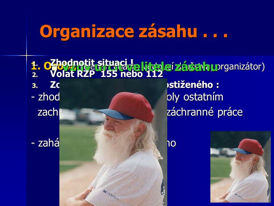 Organizace zásahu...Organizace zásahu... 1.