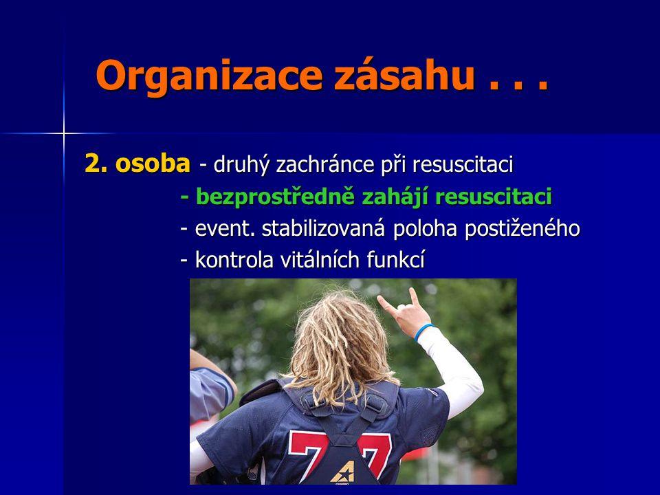 Organizace zásahu...Organizace zásahu... 2.