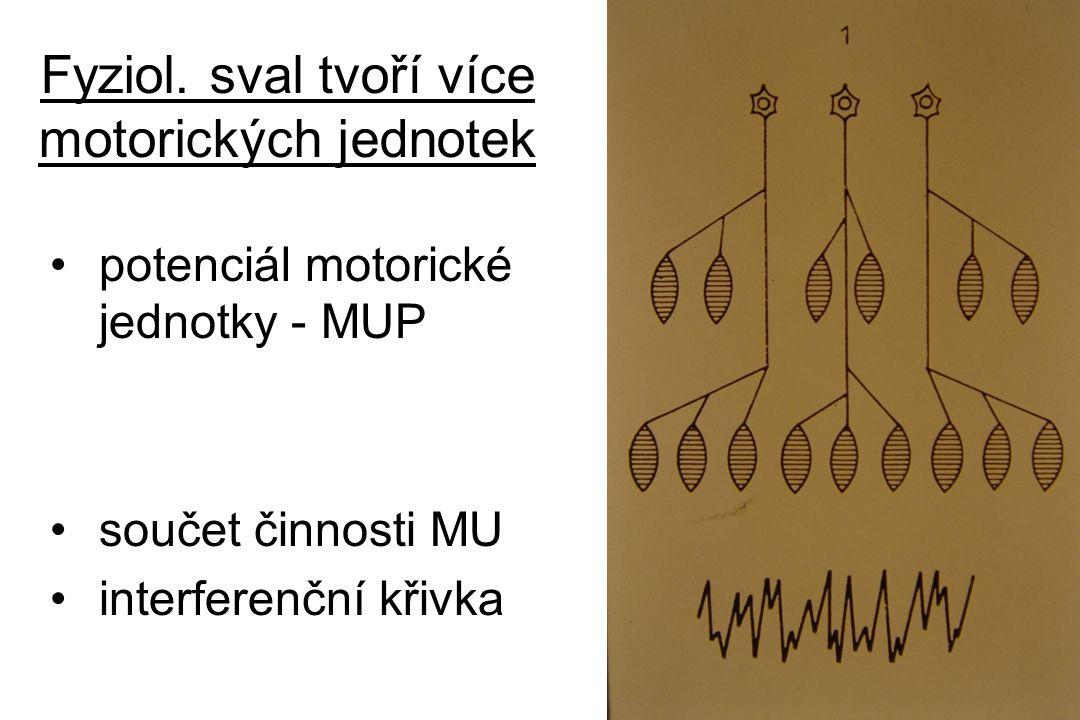 Fyziologický nábor MUPs