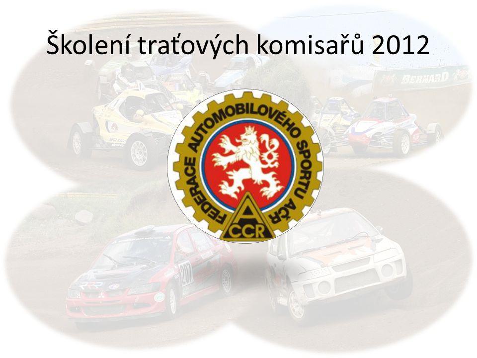 Školení traťových komisařů 2012
