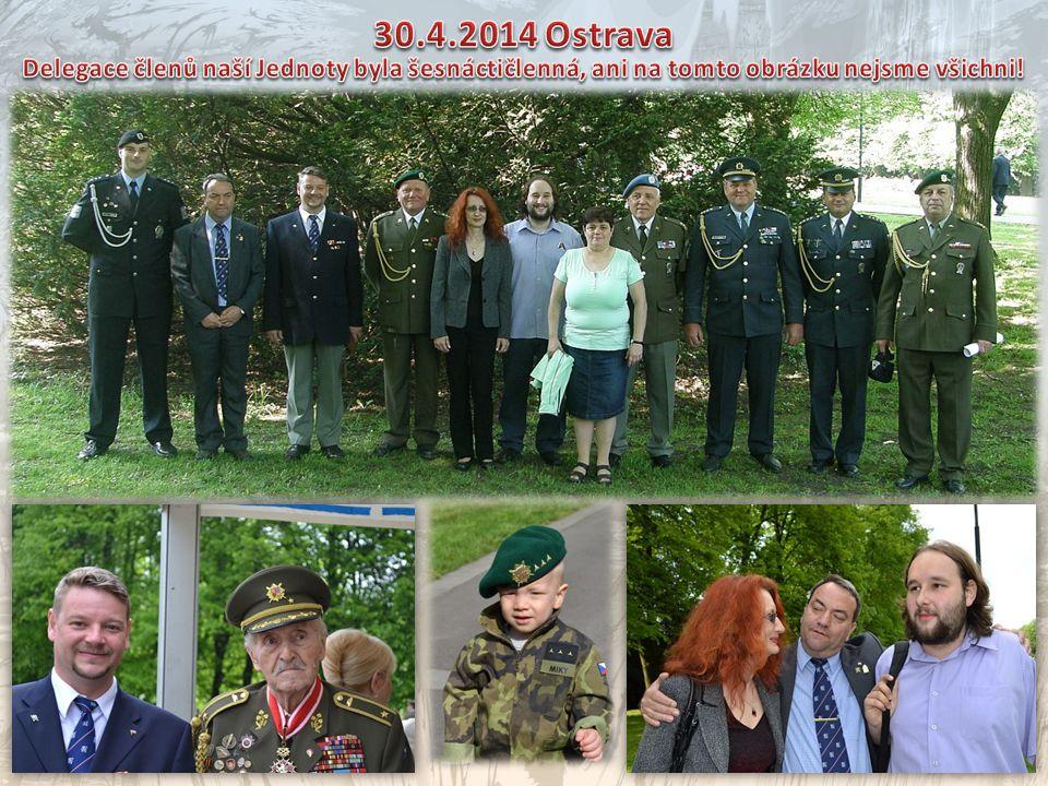 Primátor P. Kajnar při projevuZdravice velvyslance S. Kiseleva