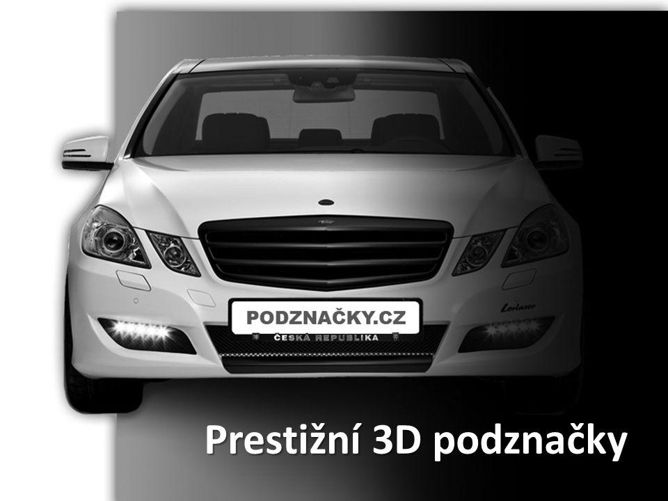 Vstupní informace • Zabýváme se výrobou a distribucí patentovaných reklamních podznaček s 3D textem a efektem • Získali jsme výhradní zastoupení pro český, polský a slovenský trh • Výrobcem je rakouská firma, která v minulém roce prodala téměř 1 milion kusů v rámci rakouského a německého trhu