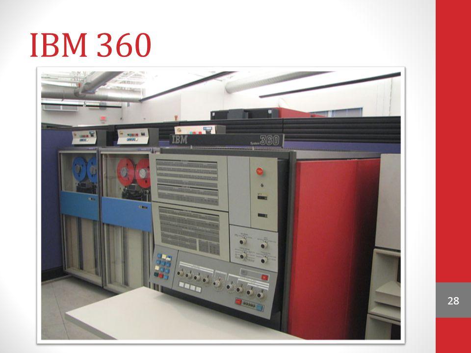 IBM 360 28