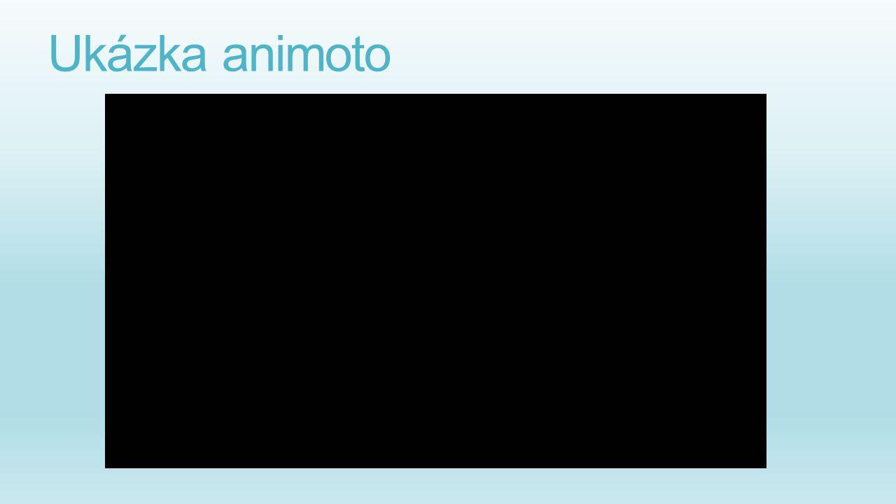 Ukázka animoto