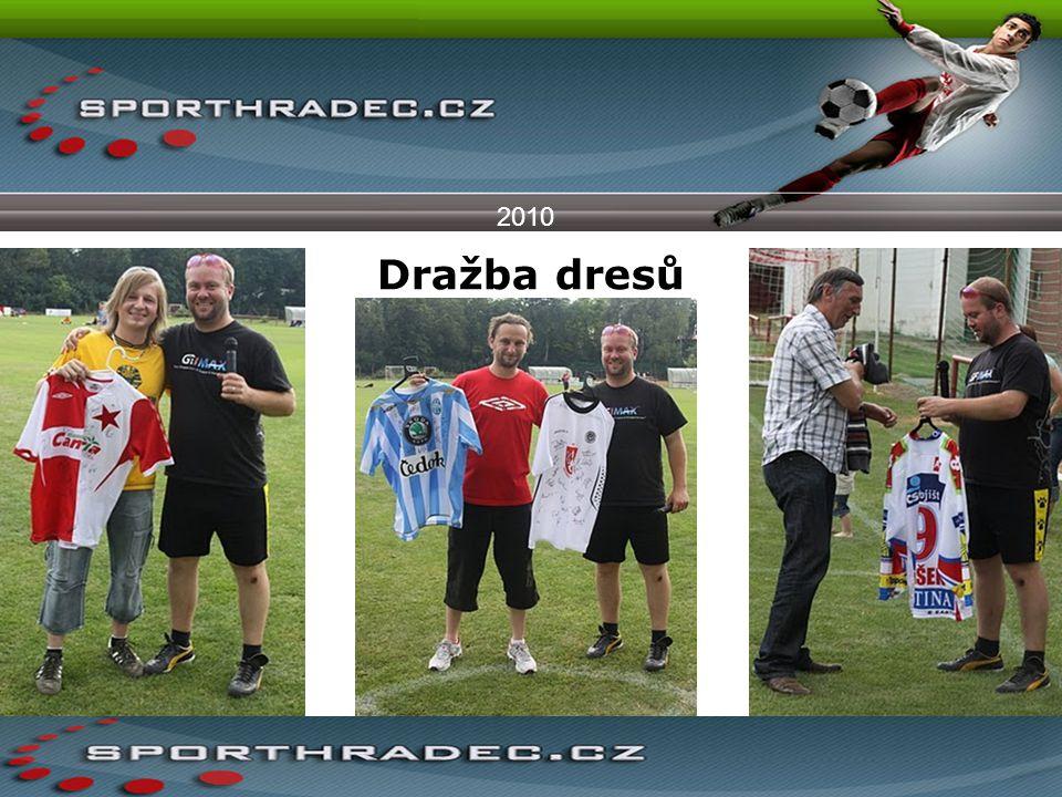 Dražba dresů 2010