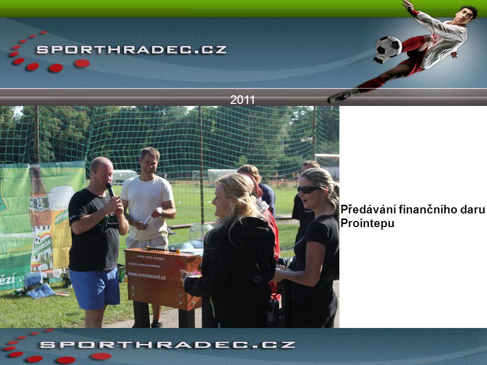 2011 Předávání finančního daru Prointepu