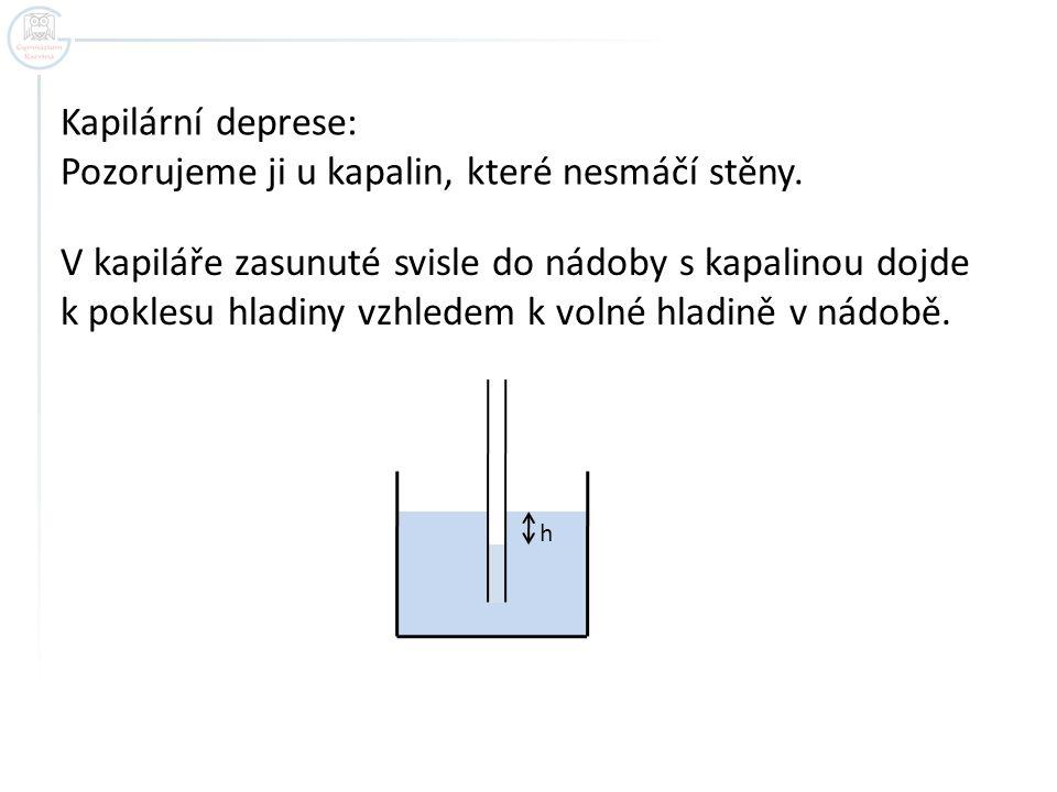 TEPLOTNÍ OBJEMOVÁ ROZTAŽNOST KAPALIN U většiny kapalin se jejich objem s rostoucí teplotou zvyšuje.