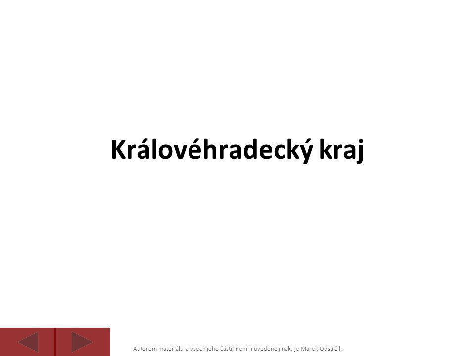 Autorem materiálu a všech jeho částí, není-li uvedeno jinak, je Marek Odstrčil. Královéhradecký kraj