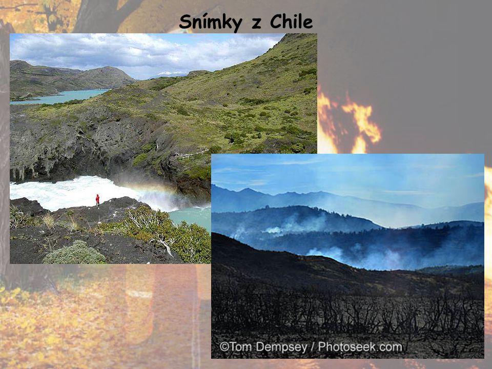 Snímky z Chile