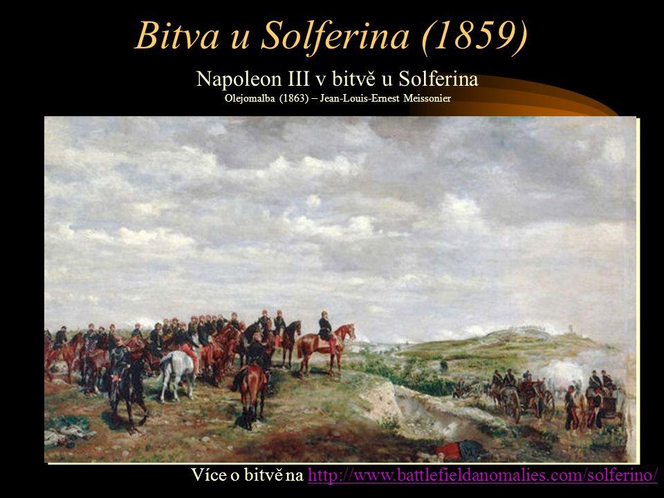 Následky bitvy u Solferina •Po bitvě dochází k dohodě Napoleona III.