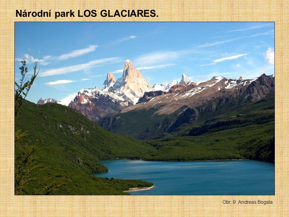 Národní park LOS GLACIARES. Obr. 9: Andreas Bogala