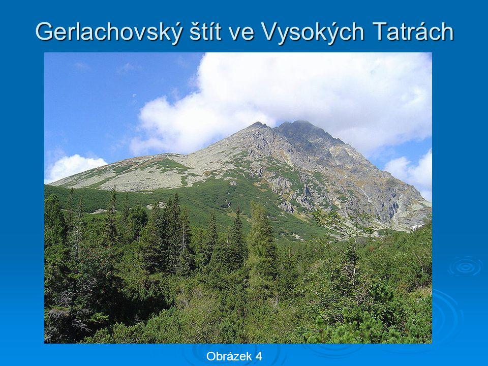 Gerlachovský štít ve Vysokých Tatrách Obrázek 4