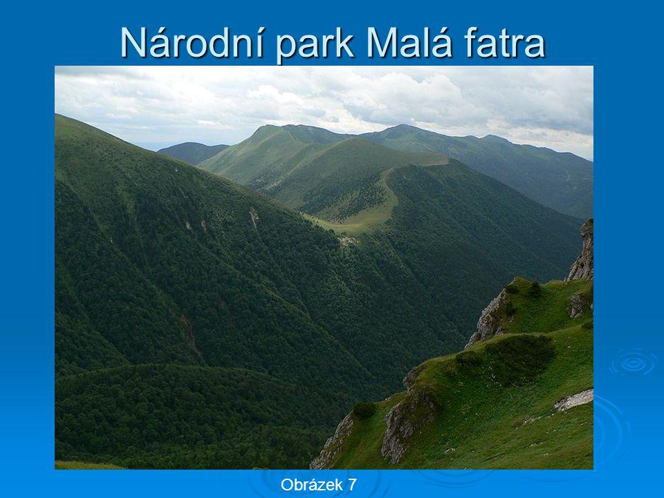 Národní park Malá fatra Obrázek 7