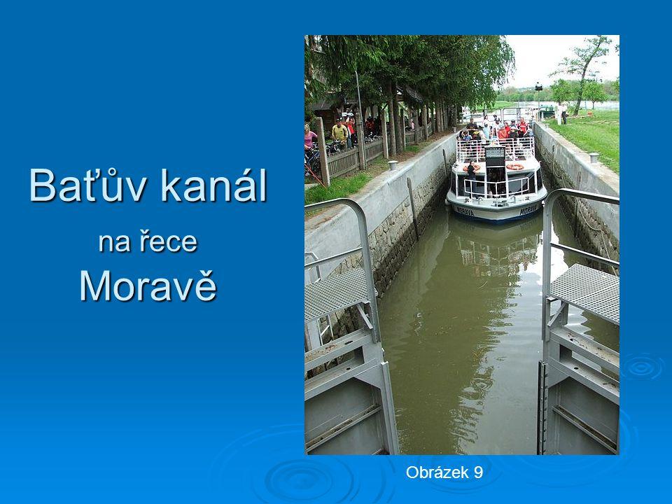Baťův kanál na řece Moravě Obrázek 9