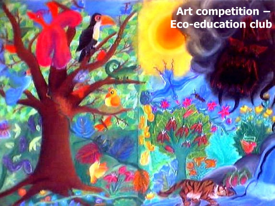 Art competition – Eco-education club