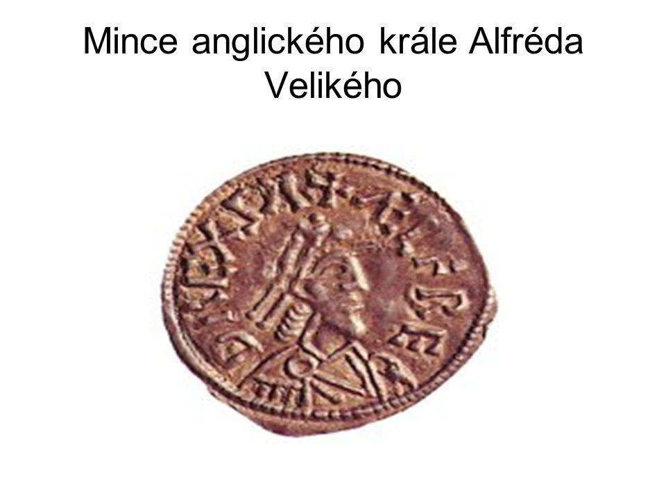 Mince anglického krále Alfréda Velikého