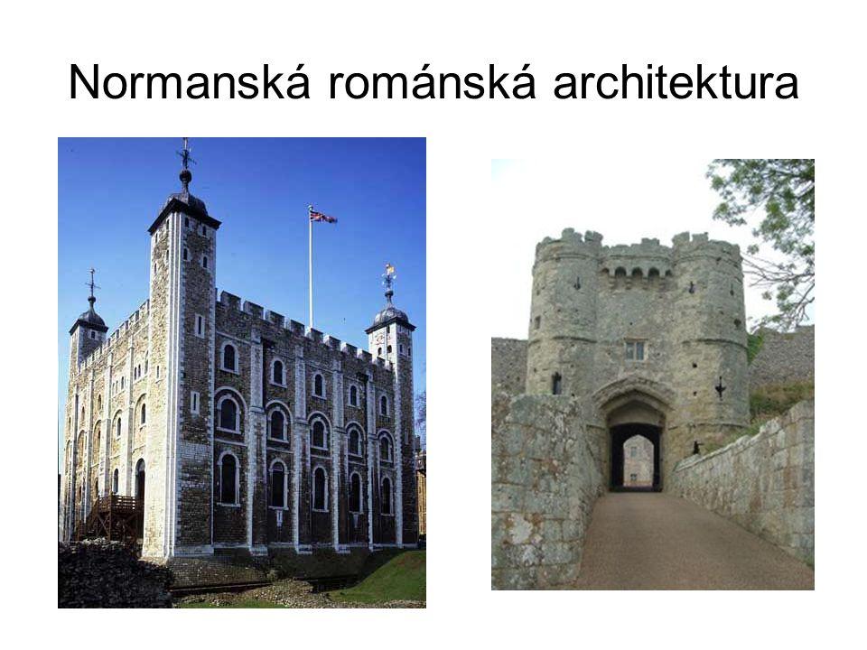 Normanská románská architektura