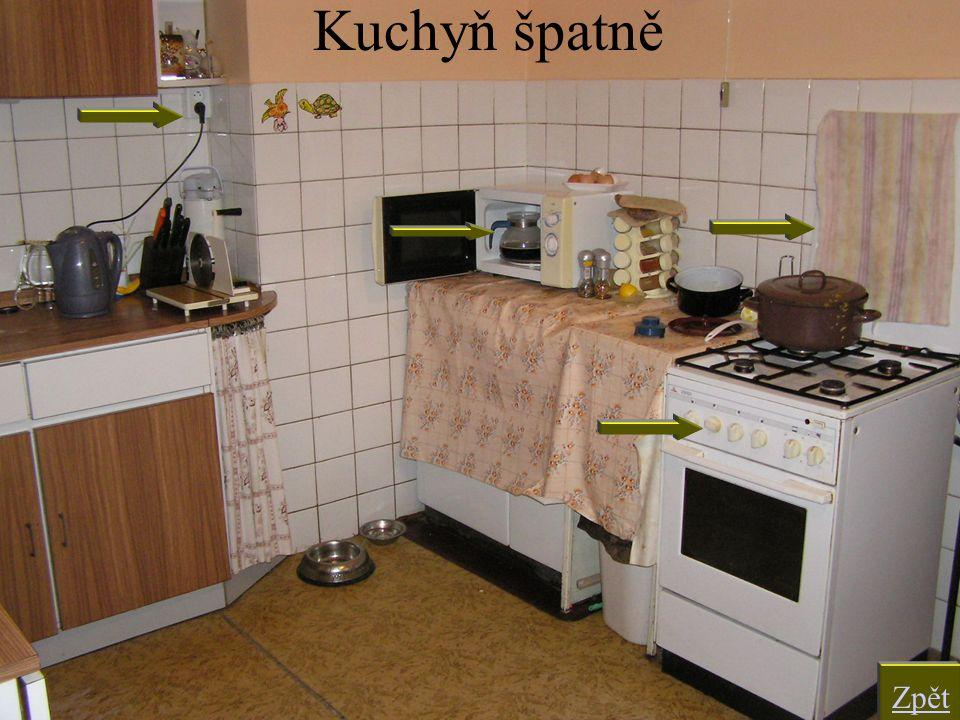 Kuchyň špatně Zpět
