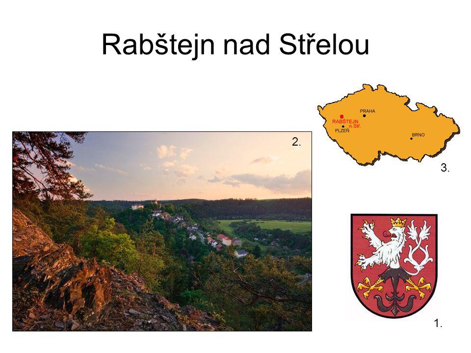 Rabštejn nad Střelou 1. 2. 3.