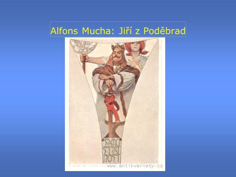 Alfons Mucha: Jiří z Poděbrad