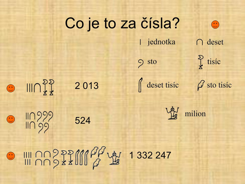Co je to za čísla? 2 013 524 1 332 247