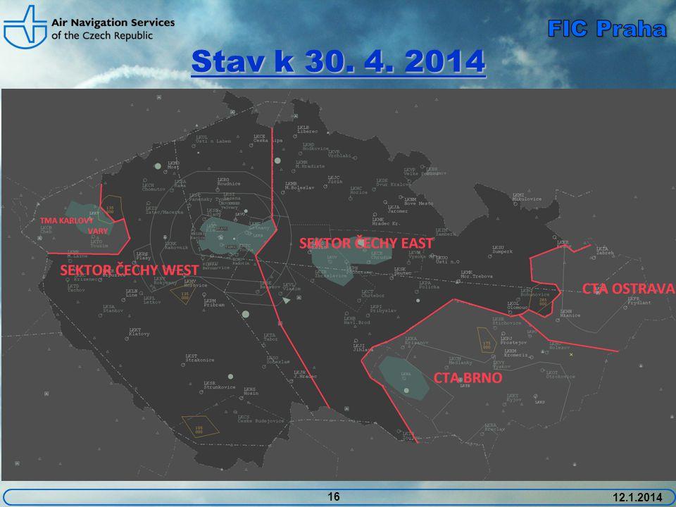 Stav k 30. 4. 2014 16 12.1.2014